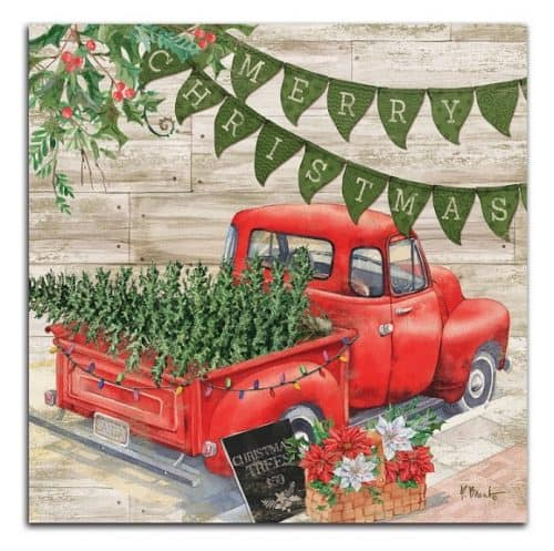 Farmhouse Pick Up truck Christmas Sign #farmhousedecor