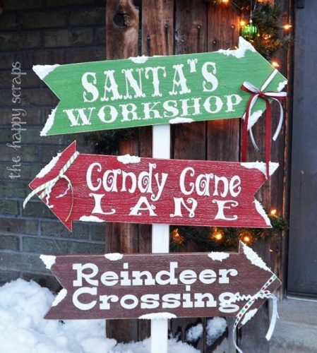 Christmas Front Porch Sign