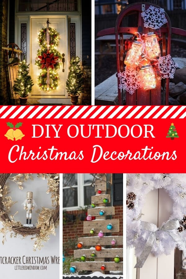 diy outdoor christmas decorations simple outdoor christmas decorations to make