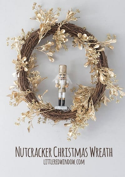 Nutcracker Christmas Wreath