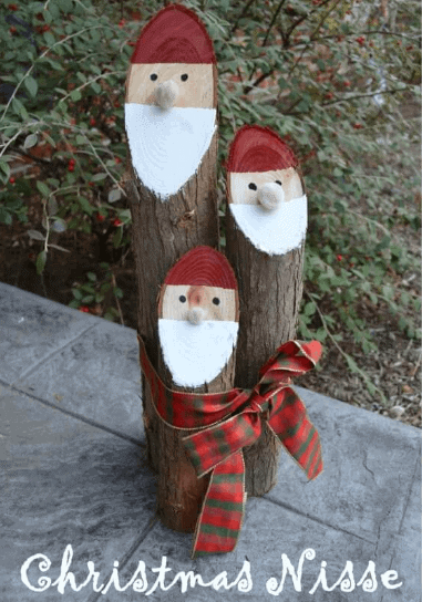 Santa Outdoor Christmas Decorations