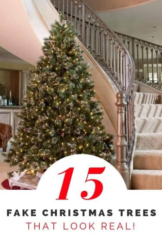 15 Best Fake Christmas Trees 2019 That Look Real Absolute Christmas