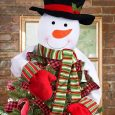 Christmas Tree Topper Snowman Hugger | Christmas Tree Toppers