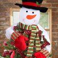 Christmas Tree Topper Snowman Hugger | Christmas Tree Toppers