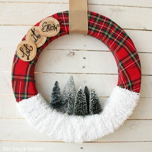 Easy DIY Christmas Wreaths