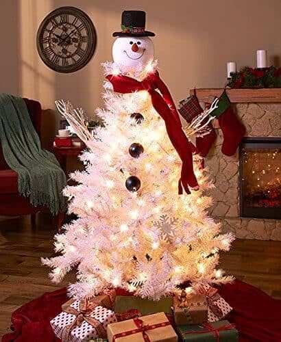 Snowman Top Hat Christmas Tree Topper
