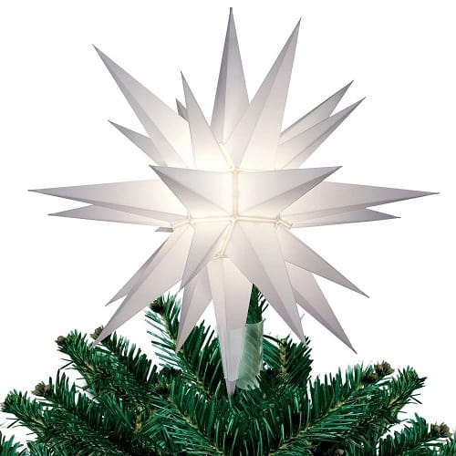 Star Christmas Tree Topper | Morovian star