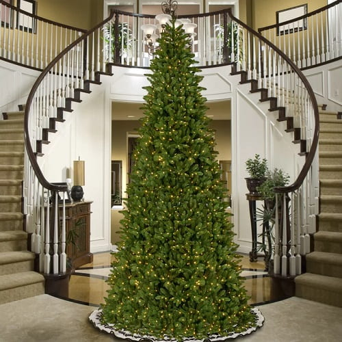 14 ft. Realistic High End Christmas Tree with 1,300 Lights