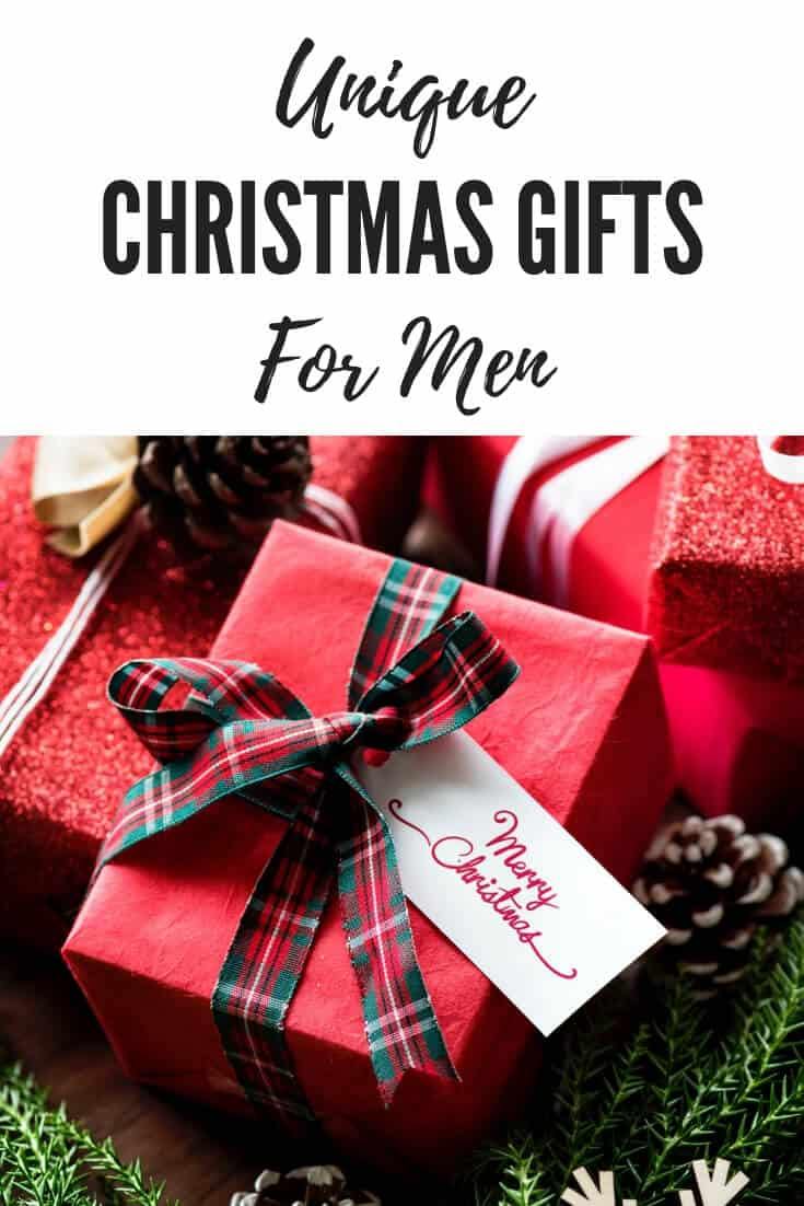 Unique Christmas Gifts for Men
