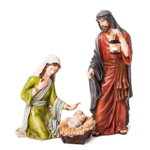 3 Piece Outdoor Nativity Scene