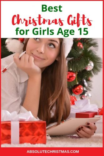 Christmas Gifts for 15 Year Old Girls
