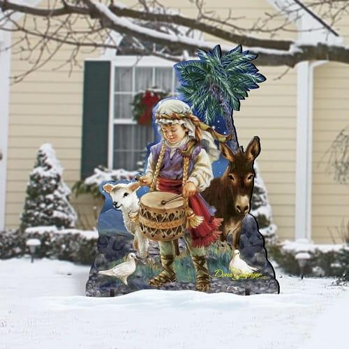 Little Drummer Boy Outdoor Christmas Decoration