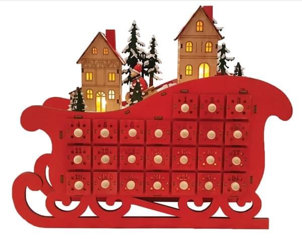 Sleigh Advent Calendar