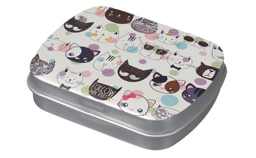 Cutie Pie Kitty Kawaii Candy Tin
