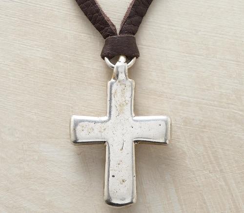 Mountain Spirits Cross Pendant Necklace