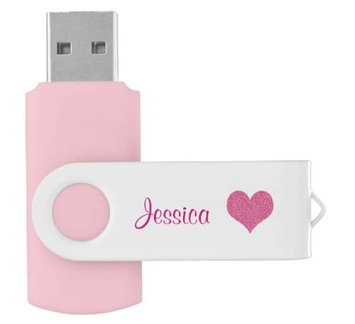 Personalized Name USB Flash Drive