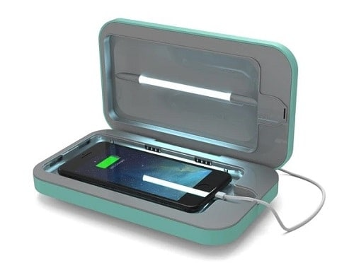 Smartphone UV Sanitizer - Aqua