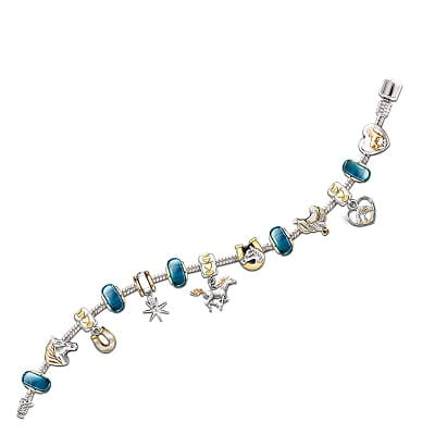 Beaded Horse Charm Bracelet With 13 Interchangeable Charms