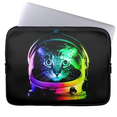 Cat Astronaut - Space Cat Laptop Sleeve
