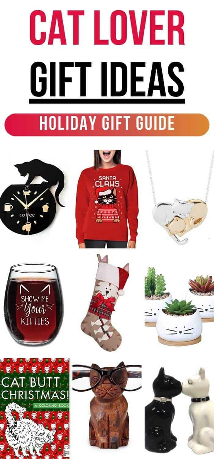 Gift Ideas for Cat Lovers - Holiday Gift Guide