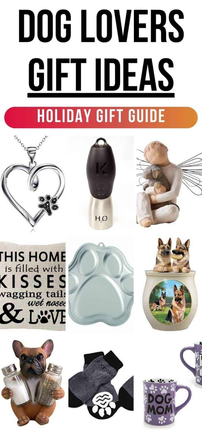 Gift Ideas for Dog Lovers - Holiday Gift Guide