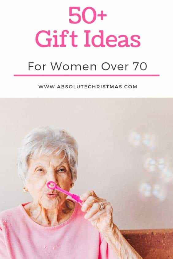 Best Gifts for a 70 Year Old Woman
