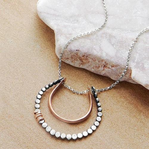 Handmade Horseshoe Pendant