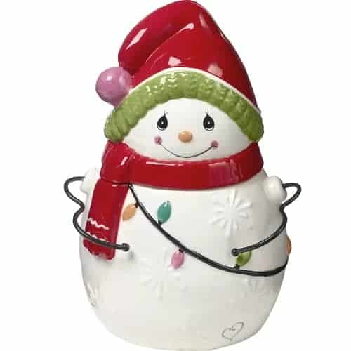 Snowman Christmas Cookie Jar