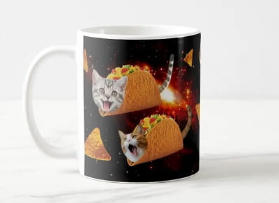 Taco Cats Coffee Mug