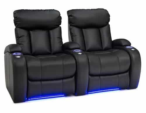 Home Theater Seating With LED Lights