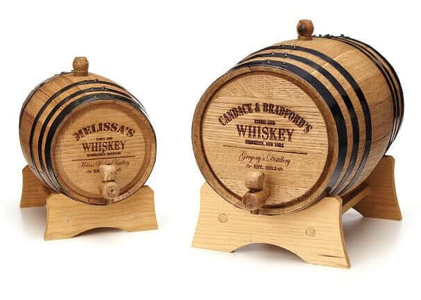Personalized Whiskey Barrel - Man Cave Gift Ideas