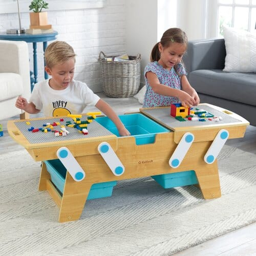 KidKraft Building Bricks Kids Activity Table