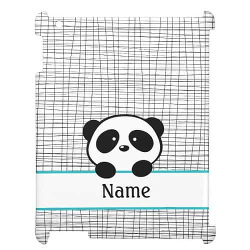 Personalized Panda Bear Case For The iPad 2, 3, 4