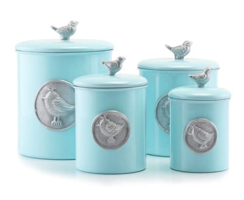 4 Piece Kitchen Canister Set - Kitchen Gifts- Gifts For Women Over 50