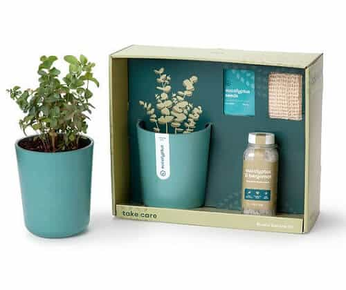 Just Breathe Eucalyptus Spa Gift Set - Health and Wellness Gifts for Women Over 50