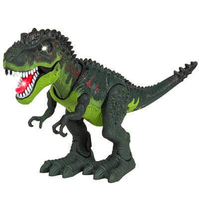 Walking T-Rex Dinosaur Toy with Lights and Sound