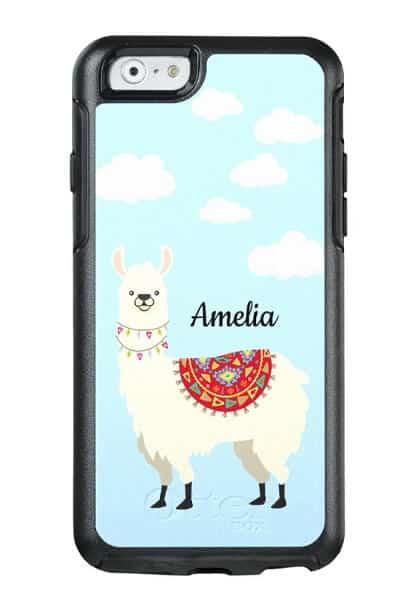 Adorable Dressed Up Llama OtterBox Phone Case