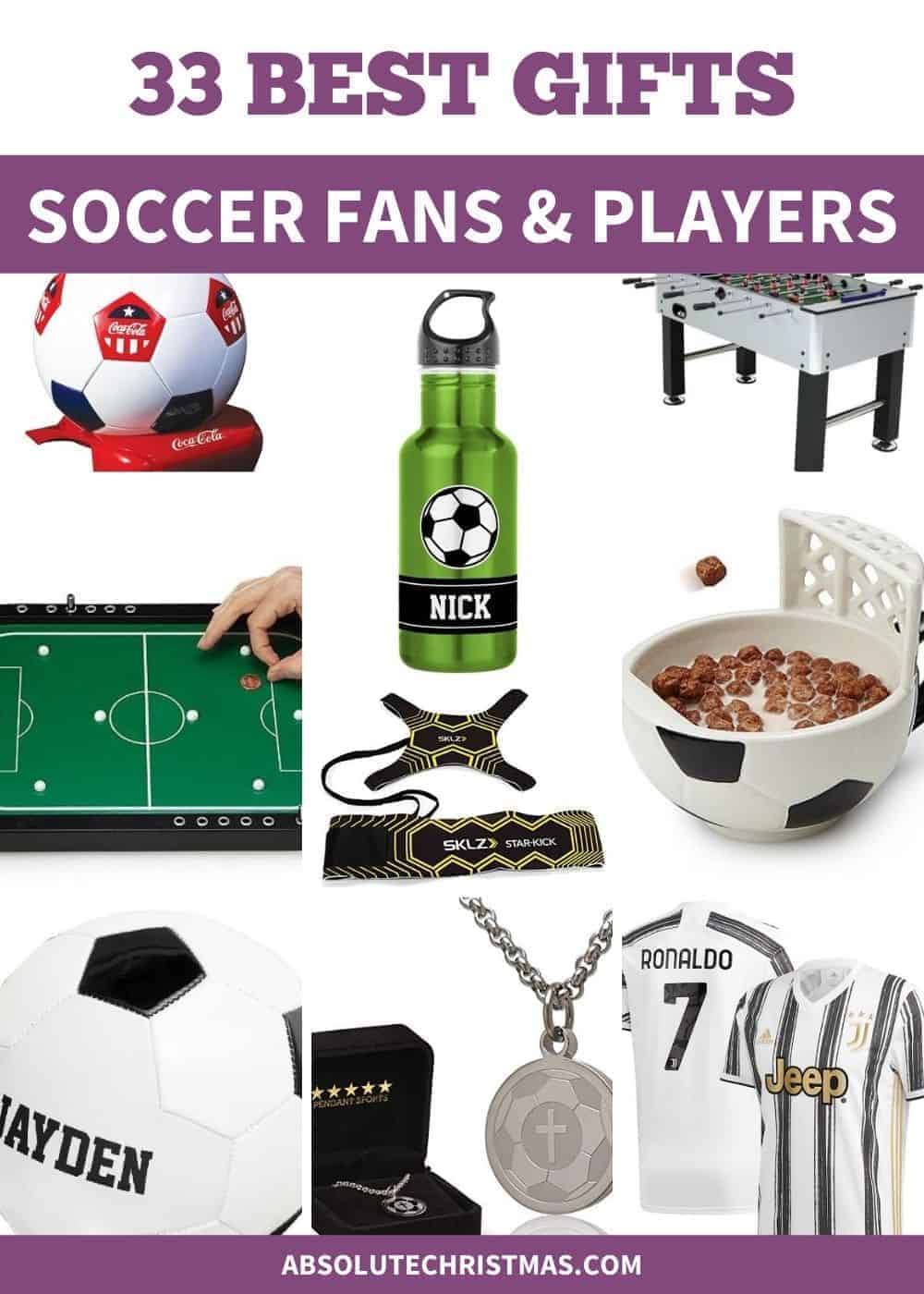 Best Gifts for Soccer Fans - Soccer Gifts