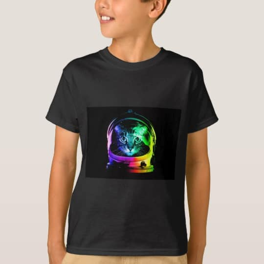 Cat Astronaut - Space Cat T-Shirt