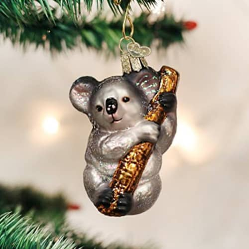Handcrafted Koala Christmas Ornament