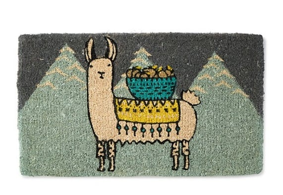 Larry the Llama Doormat