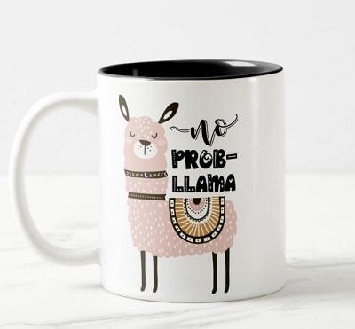 No Prob-Llama Cute Coffee Mug