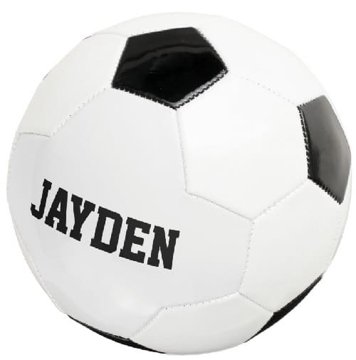 Personalized Soccer Ball for Kids