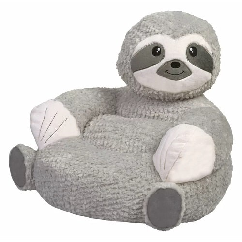 Plush Sloth Chair For Kids