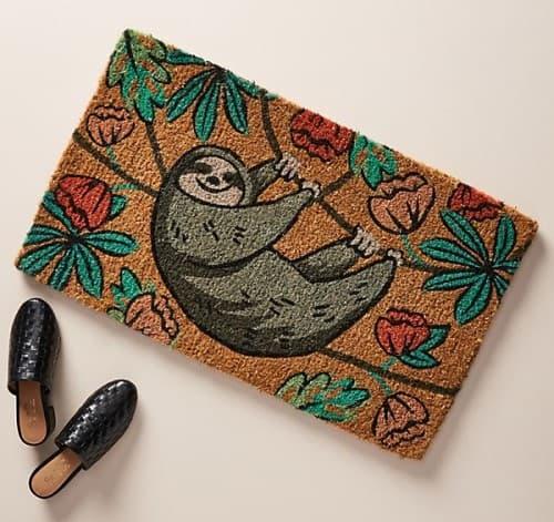 Sloth Doormat
