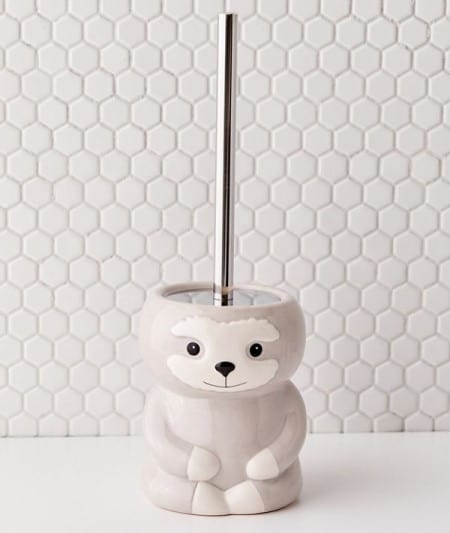 Sloth Toilet Brush Holder