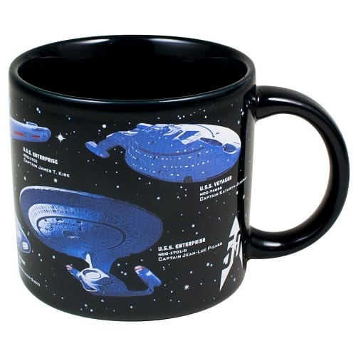 Star Trek Mug - Gifts for Trekkie Fans - Gifts for Space Enthusiasts