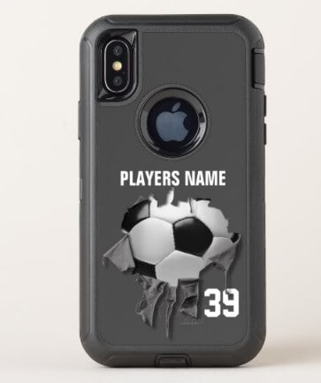 Torn Soccer OtterBox Phone Case