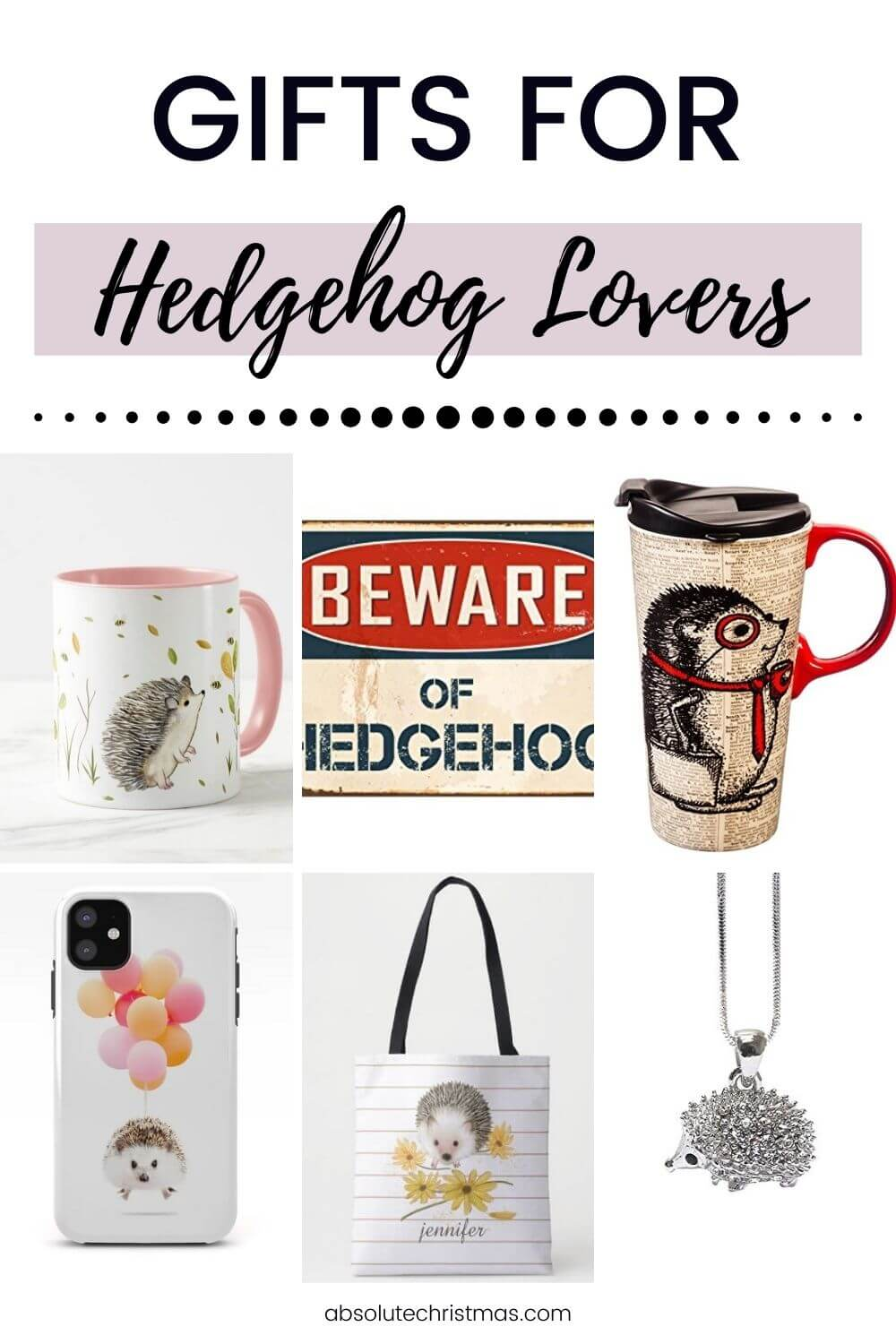 Best Gifts for Hedgehog Lovers - Cute Hedgie Lovers Gift Ideas