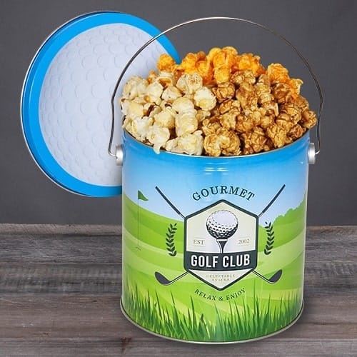 Golf Popcorn Tin - Gifts for Golfers
